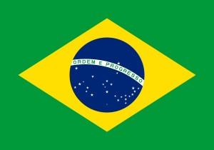 Brazilian Flag - Coffee Mill